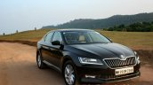 2016 Skoda Superb Laurin & Klement front quarter right  First Drive Review
