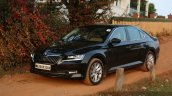 2016 Skoda Superb Laurin & Klement front three quarter left First Drive Review