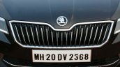 2016 Skoda Superb Laurin & Klement grille First Drive Review
