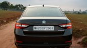 2016 Skoda Superb Laurin & Klement rear First Drive Review