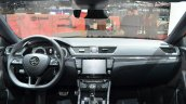2016 Skoda Superb SportLine dashboard at 2016 Geneva Motor Show