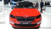 2016 Skoda Superb SportLine front at 2016 Geneva Motor Show