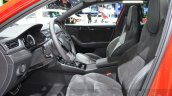 2016 Skoda Superb SportLine front seats at 2016 Geneva Motor Show
