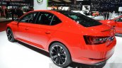 2016 Skoda Superb SportLine red at 2016 Geneva Motor Show