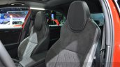 2016 Skoda Superb SportLine seat upholstery at 2016 Geneva Motor Show