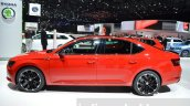 2016 Skoda Superb SportLine side at 2016 Geneva Motor Show