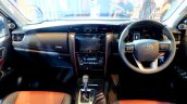 2016 Toyota Fortuner TRD Sportivo dashboard launched in Thailand
