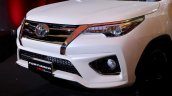 2016 Toyota Fortuner TRD Sportivo front bumper launched in Thailand
