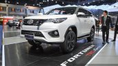 2016 Toyota Fortuner TRD Sportivo front quarter at 2016 BIMS