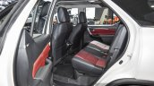 2016 Toyota Fortuner TRD Sportivo rear seat at 2016 BIMS