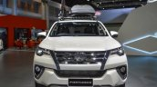 2016 Toyota Fortuner White front at 2016 BIMS