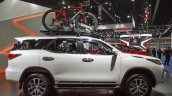 2016 Toyota Fortuner White side at 2016 BIMS