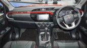2016 Toyota Hilux Revo TRD Sportivo dashboard at 2016 BIMS