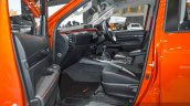 2016 Toyota Hilux Revo TRD Sportivo front seats at 2016 BIMS