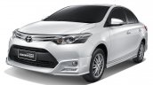 2016 Toyota Vios Exclusive front quarter launched in Thailand