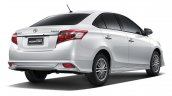 2016 Toyota Vios Exclusive rear quarter launched in Thailand