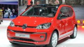 2016 VW Up! beats front quarter at the 2016 Geneva Motor Show