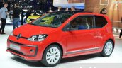 2016 VW Up! beats front three quarter at the 2016 Geneva Motor Show