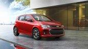 2017 Chevrolet Sonic hatchback front three quarters