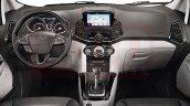 2017 Ford EcoSport (facelift) interior rendering