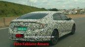 2017 Honda Civic rear quarter spied in Brazil