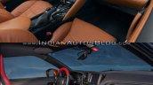 2017 Nissan GT-R vs 2015 Nissan GT-R interior dashboard