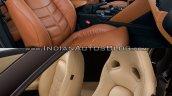 2017 Nissan GT-R vs 2015 Nissan GT-R interior seats