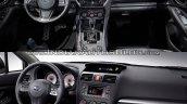 2017 Subaru Impreza interior vs 2011 Subaru Impreza interior