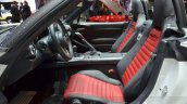Abarth 124 Spider cabin at the 2016 Geneva Motor Show Live