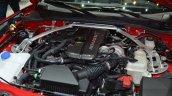 Abarth 124 Spider engine bay at the 2016 Geneva Motor Show Live