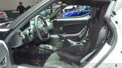 Alfa Romeo 4C Coupe front seats at the 2016 Geneva Motor Show