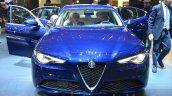 Alfa Romeo Giulia front at the 2016 Geneva Motor Show Live