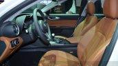 Alfa Romeo Giulia front cabin at the 2016 Geneva Motor Show Live