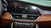 Alfa Romeo Giulia infotainment screen at the 2016 Geneva Motor Show Live