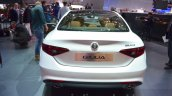 Alfa Romeo Giulia rear at the 2016 Geneva Motor Show Live
