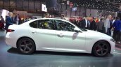 Alfa Romeo Giulia side at the 2016 Geneva Motor Show Live