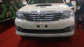 Armored Toyota Fortuner front DefExpo 2016