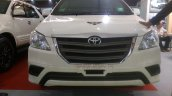 Armored Toyota Innova front DefExpo 2016