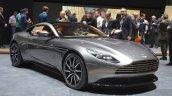 Aston Martin DB11 front three quarter at the 2016 Geneva Motor Show Live