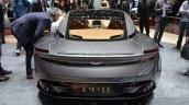 Aston Martin DB11 rear at the 2016 Geneva Motor Show Live