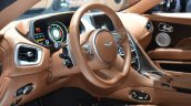 Aston Martin DB11 steering at the 2016 Geneva Motor Show Live