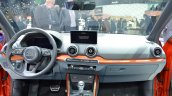 Audi Q2 dashboard at the 2016 Geneva Motor Show Live