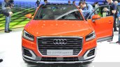 Audi Q2 front at the 2016 Geneva Motor Show Live