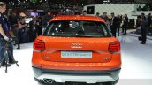 Audi Q2 rear at the 2016 Geneva Motor Show Live