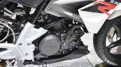 BMW G310R black engine at 2016 Geneva Motor Show