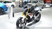 BMW G310R front quarter at 2016 Geneva Motor Show
