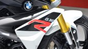 BMW G310R tank extension at 2016 Geneva Motor Show