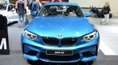 BMW M2 front at the 2016 Geneva Motor Show Live