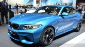 BMW M2 front three quarter at the 2016 Geneva Motor Show Live