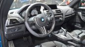 BMW M2 interior at the 2016 Geneva Motor Show Live